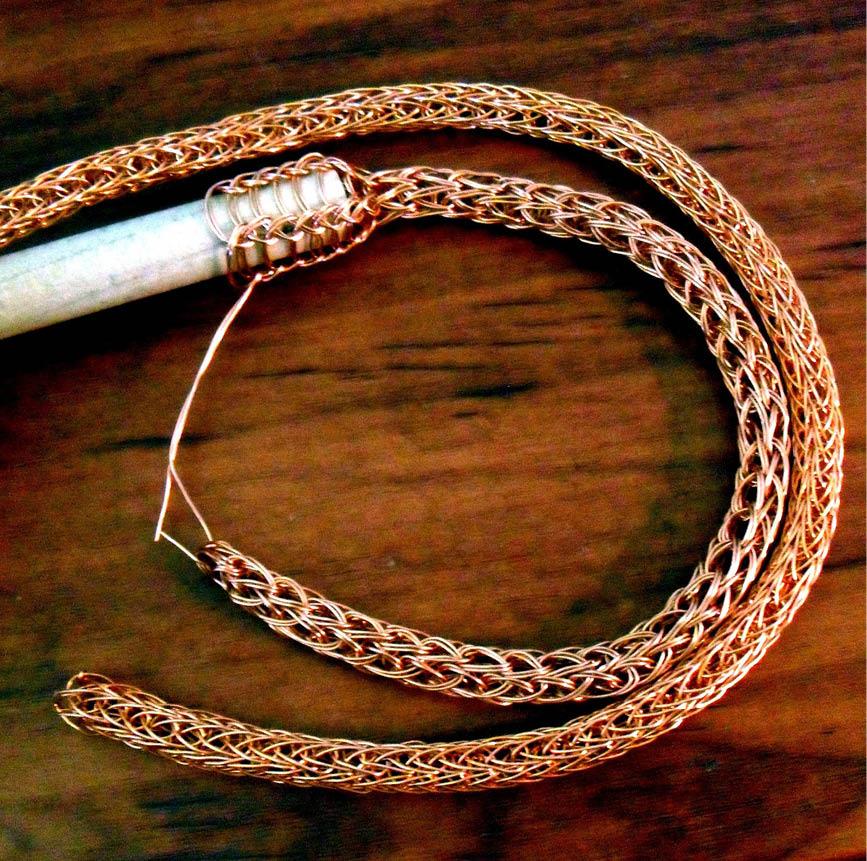 bracelet or maille