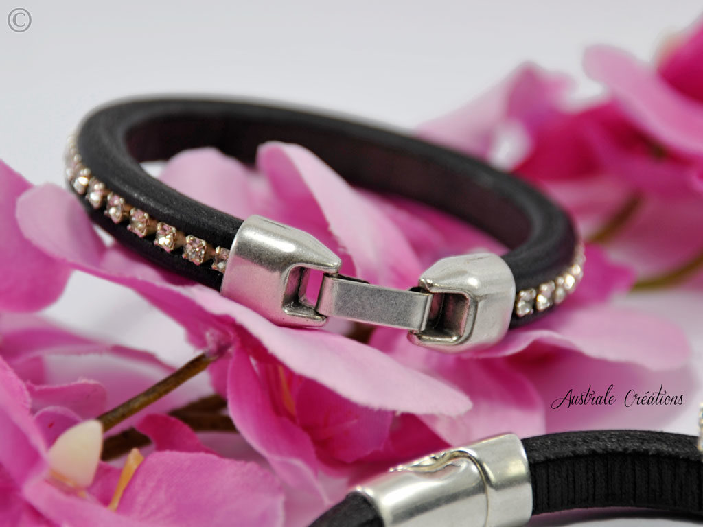 bracelet jonc or rose