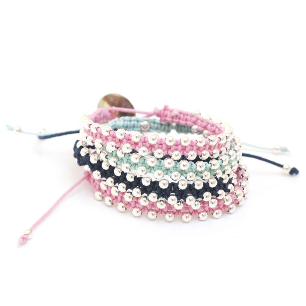 bracelet fantaisie argent