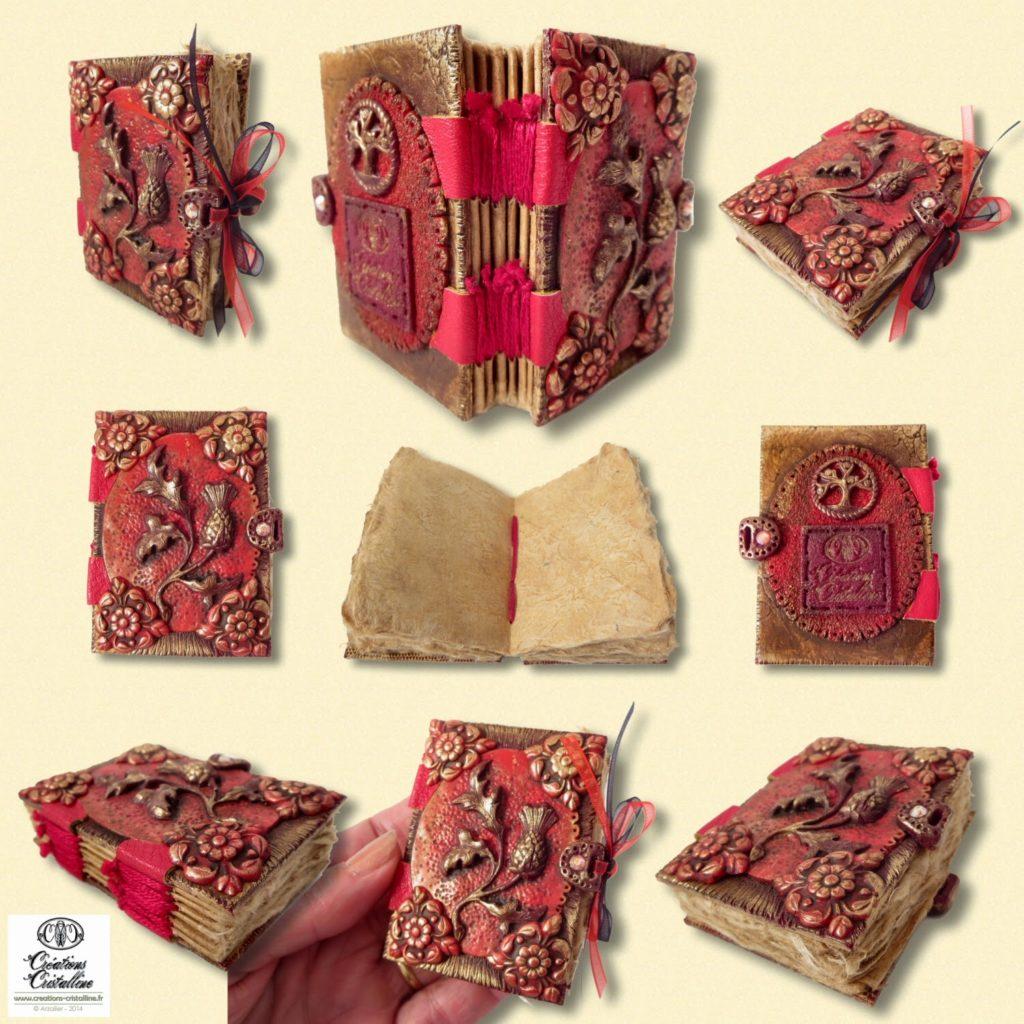 carnet couverture cuir