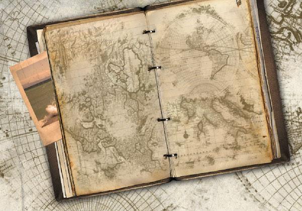 créer un journal de voyage