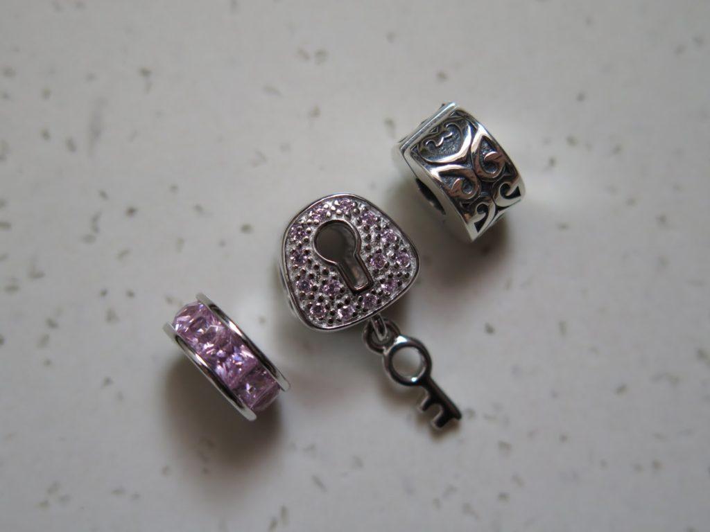 pandora charm jewelry box
