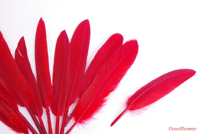 bijoux fantaisies rouge