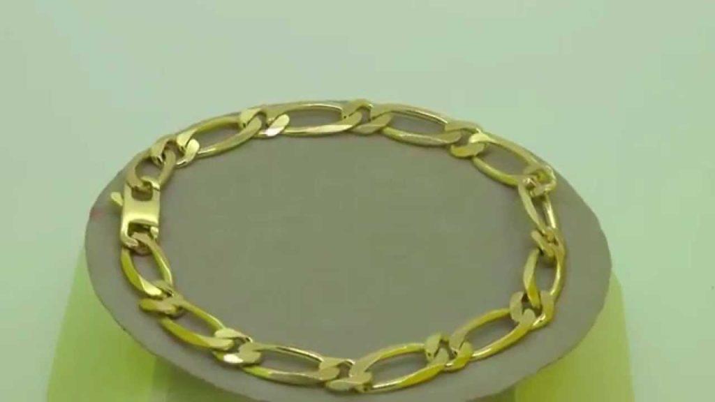 bracelet or maille gourmette