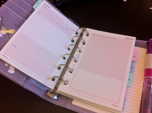 agenda organiseur original