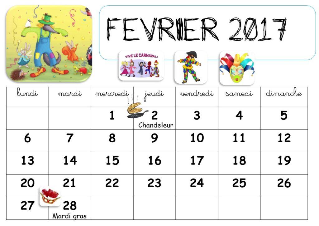 calendrier a imprimer 2019 par mois