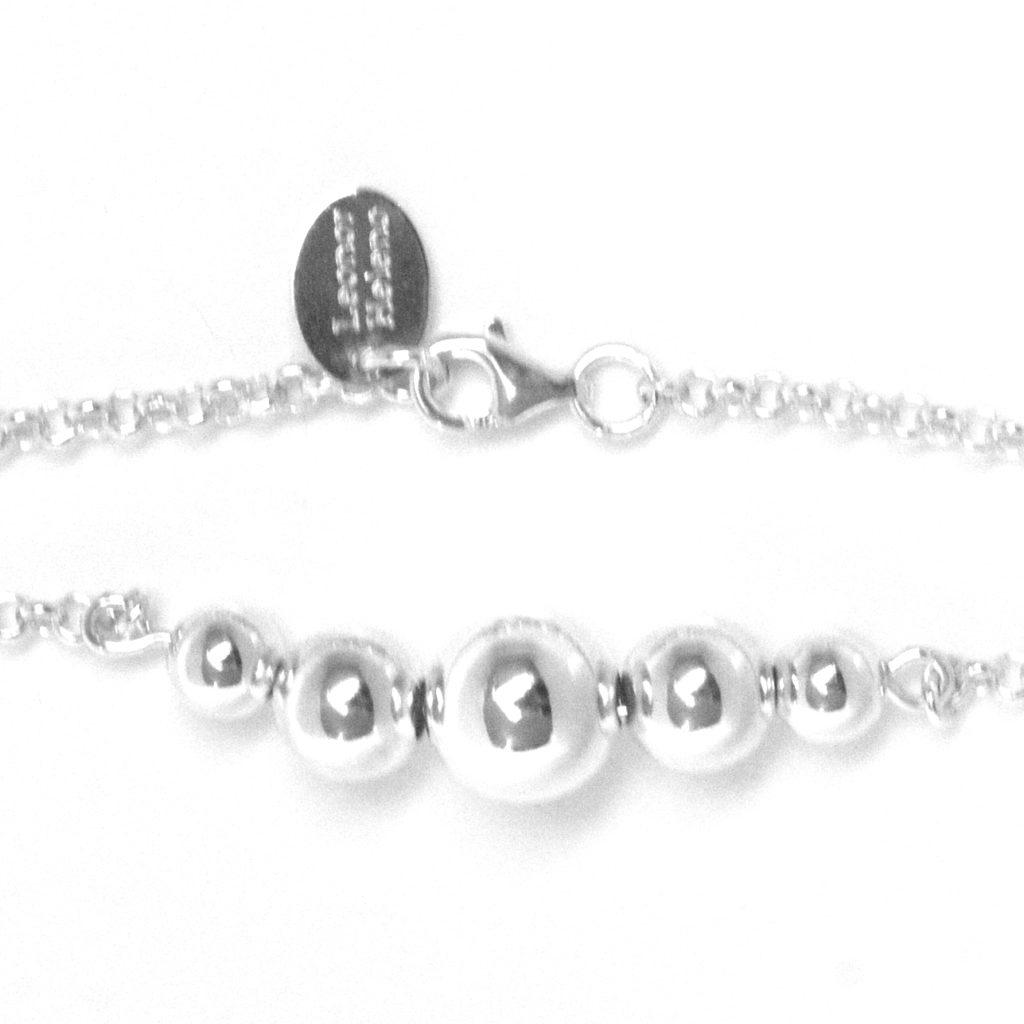 bracelet argent tendance
