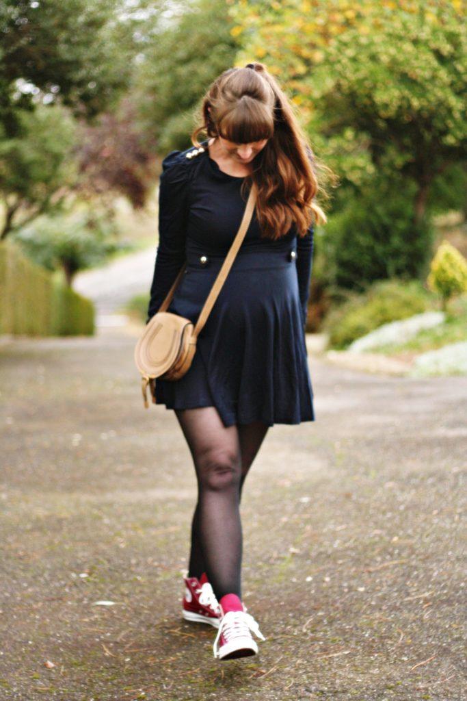 robe vintage noire