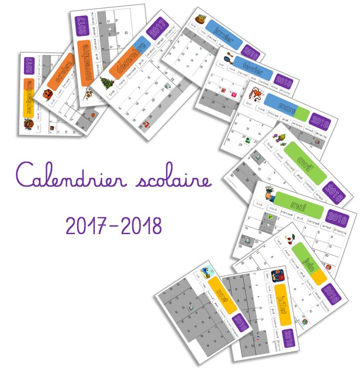 calendrier 2018 2019 vacances scolaires