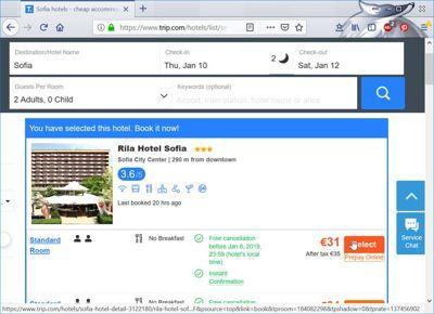 comparateur hotel prix