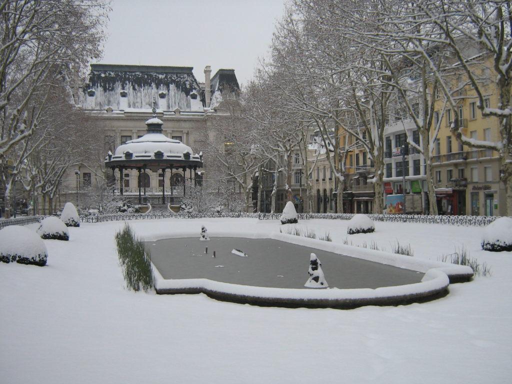 neige a saint etienne aujourd'hui