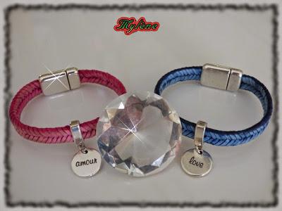 bijoux en argent rose