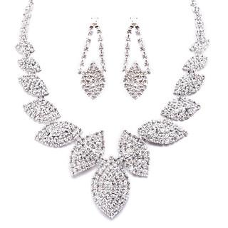 collier or blanc diamant femme