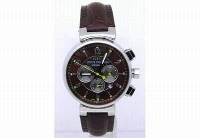 bracelet de montres cuir