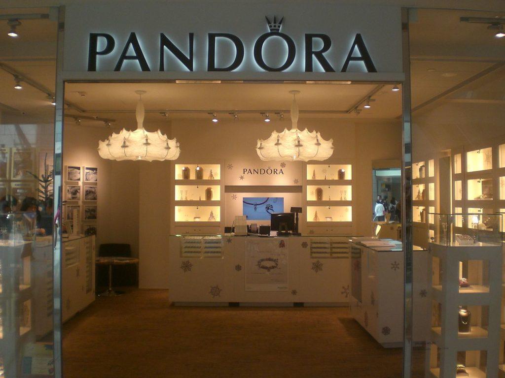 pandora jewelry case