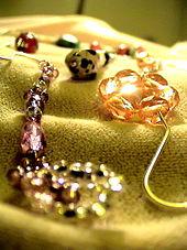presentoir pour bijoux