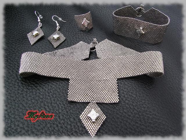 parure bijoux argent